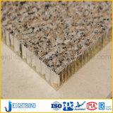 خاصّ شكل حجارة حبّة ألومنيوم قرص عسل لوح لأنّ جدار [كلدّينغ]
