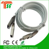 Soem-ODM-Zink-Legierungs-Typ C USB-Aufladeeinheits-Kabel
