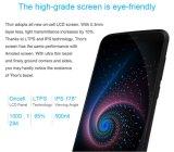 Grey astuto mobile del telefono della ROM 2800mAh di RAM 16g del telefono 3G del Android 6.0 originali dello schermo di pollice HD del telefono 5.0 delle cellule di memoria di Thor Mt6753 Octa di Vernee