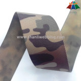 25mm 50mm Heat Print Print Camouflage Pattern Polyester Webbing
