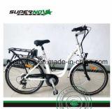 26명 인치 여자 리튬 건전지 전기 자전거 모터