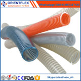 3 Slangen van de Zuiging van het Water van pvc van de duim de Spiraalvormige Flexibele