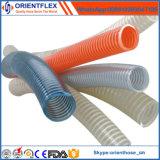 De Spiraalvormige Flexibele Slang van pvc de Slang van het Water van de Zuiging van pvc van 3 Duim