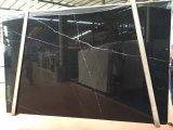 De Marmeren Plakken van Marquina van Nero &Tiles voor &Floor die van de Muur, de Zwarte Marquina, Mosa Classico, de Zwarte van China van China met Witte Ader, Nero Oosterling, het Zwarte Marmer van China behandelt