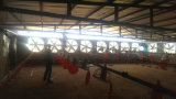 Absaugventilator-lockern industrielles Gebläse-Ventilations-Gewächshaus-Flügelradgebläse-Geflügel auf