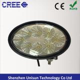 142 mm oval 12V impermeable 40W LED del trabajo de Marina