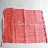 Sacchetto rosso impaccante della maglia della garza della frutta pp