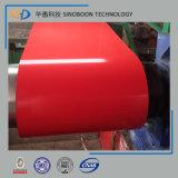 Цвет PPGI покрыл гальванизированные стальные конструкционные материалы катушки
