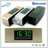 目覚し時計の表示が付いている無線APPのスピーカー