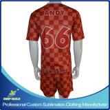 주문 빨리 승화 건조한 편리한 클럽 팀 축구 의복