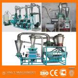 Máquina da fábrica de moagem do trigo da eficiência elevada de Uganda