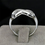 Fashion Factory Wholesale Solid Silver Infinity Ring