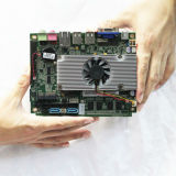 Врезанное главное правление D525 Intel бортовое с 6*COM Lvds