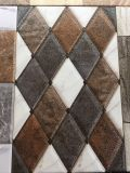 Baumaterialwasserdichtes rustikales Brown-Blumen-Porzellan-keramische Wand-Fliese