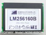Grafik 256X160 LCD-Bildschirmanzeige PFEILER Typ LCD-Baugruppe (LM256160)