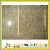 フロアーリングの装飾のためのEmperadorの軽い大理石の平板