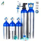 0.5liter a 50liter Cylinder Oxygen Aluminium Tank
