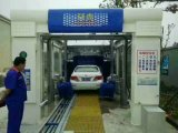 Sistema que se lava del coche por cinta transportadora