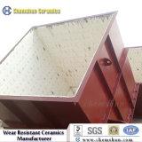 Tramoggia allineata di ceramica resistente agli urti della fornace dell'officina siderurgica di alta durezza