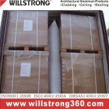 Plaque en aluminium solide de revêtement de mur