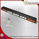 guide optique de rangée simple combinée de 28inch 150W Amber+White