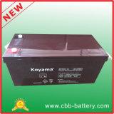 Batterie solaire d'acide de plomb de la qualité 12V 200ah AGM