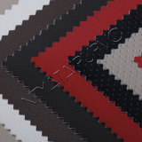 마음에 드는 것은 의자를 위한 뜨개질을 한 역행과 PVC 인공 가죽을 비교한다