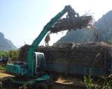 O escavador da roda de uma rotação de 360 graus com luta para o Sugarcane do registro