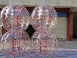 Bola de parachoques inflable del juego de la burbuja del balompié de la carrocería de Zorb de la bola inflable del sumo