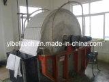 Filtro de cilindro giratório automático cheio do vácuo do raspador