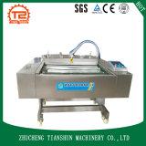 Непрерывные машина запечатывания и упаковка вакуума для сваренной еды Dzl-1100