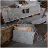 Partie supérieure du comptoir blanche indienne neuve Polished en gros de cuisine de granit de Kashmire