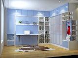Wand-Betten für Kinder mit Bücherregal und Studien-Schreibtisch
