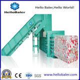 Macchina orizzontale semi automatica della pressa-affastellatrice per la gestione dei rifiuti