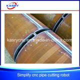 Macchina di Oxy Cutetr del plasma di CNC del cavalletto del tubo del metallo di alta esattezza