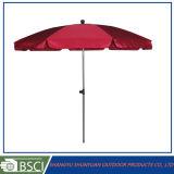 Parapluie de plage de publicité fait sur commande promotionnel avec le logo (SY1603)