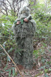 Terno durável do forro 3D Camo Ghillie do engranzamento do produto de silvicultura