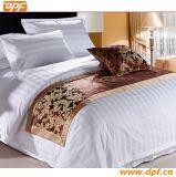 Подгонянный полиэфиром 100% шарф кровати гостиницы