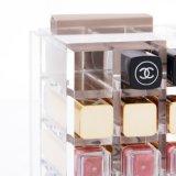 ハンドメイドの明確なアクリルの口紅のホールダーの箱の構成のオルガナイザー