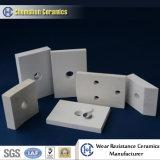 Tuile soudable en céramique d'alumine avec l'embout en céramique de fiche et d'acier