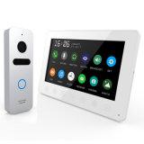Mémoire 7 pouces de garantie à la maison d'intercom d'interphone visuel de Doorphone
