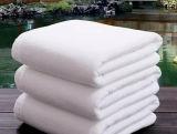 Barato blanco toalla llana para el hotel (DPF201623)