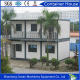 Prefabricada modular Edificio Casa Casa del envase del marco de estructura de acero