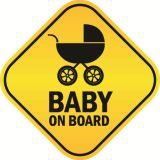 공장 가격 주문 고품질 사려깊은 아기 선내에 차 자석 표시