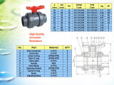 Union Plastic UPVC Vrai Ball Valve