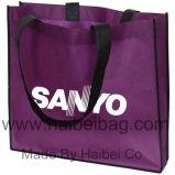 非編まれたPPの買物をするトートバック、より涼しい袋、編まれた袋、綿のキャンバス袋