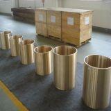 Manicotto d'ottone di rame di ASTM B584 per i pezzi meccanici