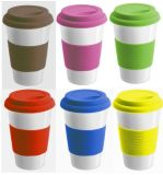 Förderndes Ceramic Mug mit Silicone Lid