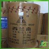 Естественный Vanillin для еды и ранг Pharm в очищенности 97%
