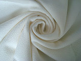 Polyester Rayon Stretch Seersucker Twill Fabric